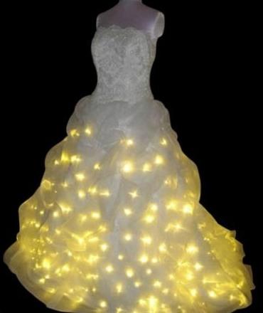 Сделать светящимся платьем