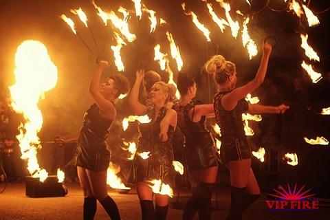 Команда огненного шоу VipFire